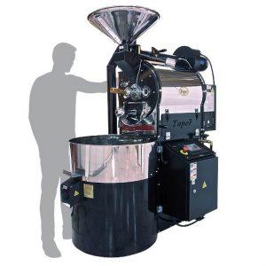 رستر قهوه ۱۵ کیلویی توپر (مانیتوردار)