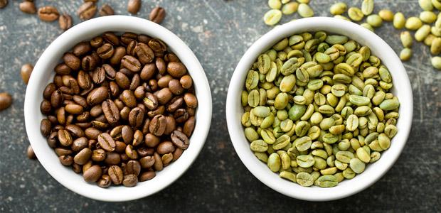 قهوه سبز و برشته شده
