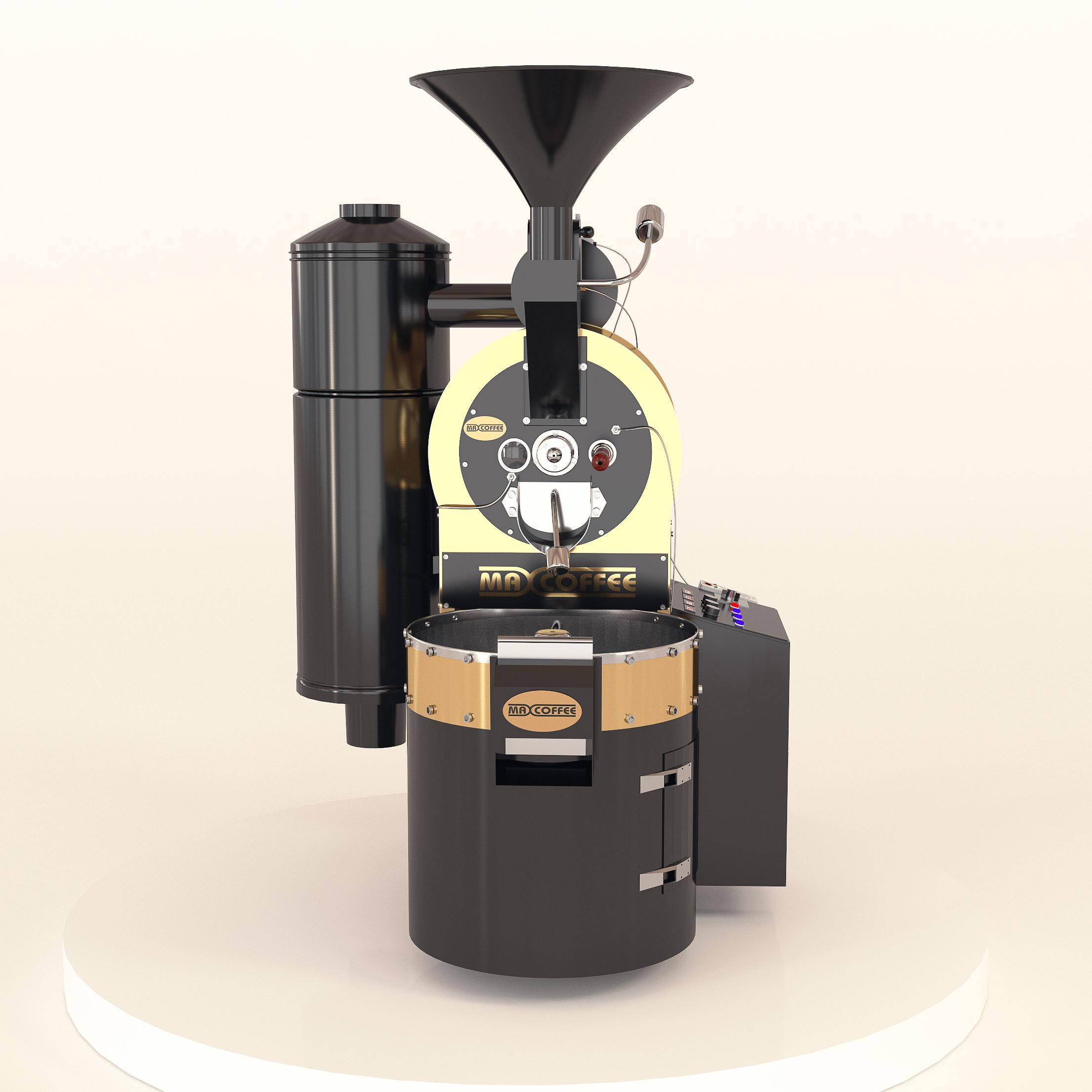 رستر قهوه ۲ کیلویی مکس کافی