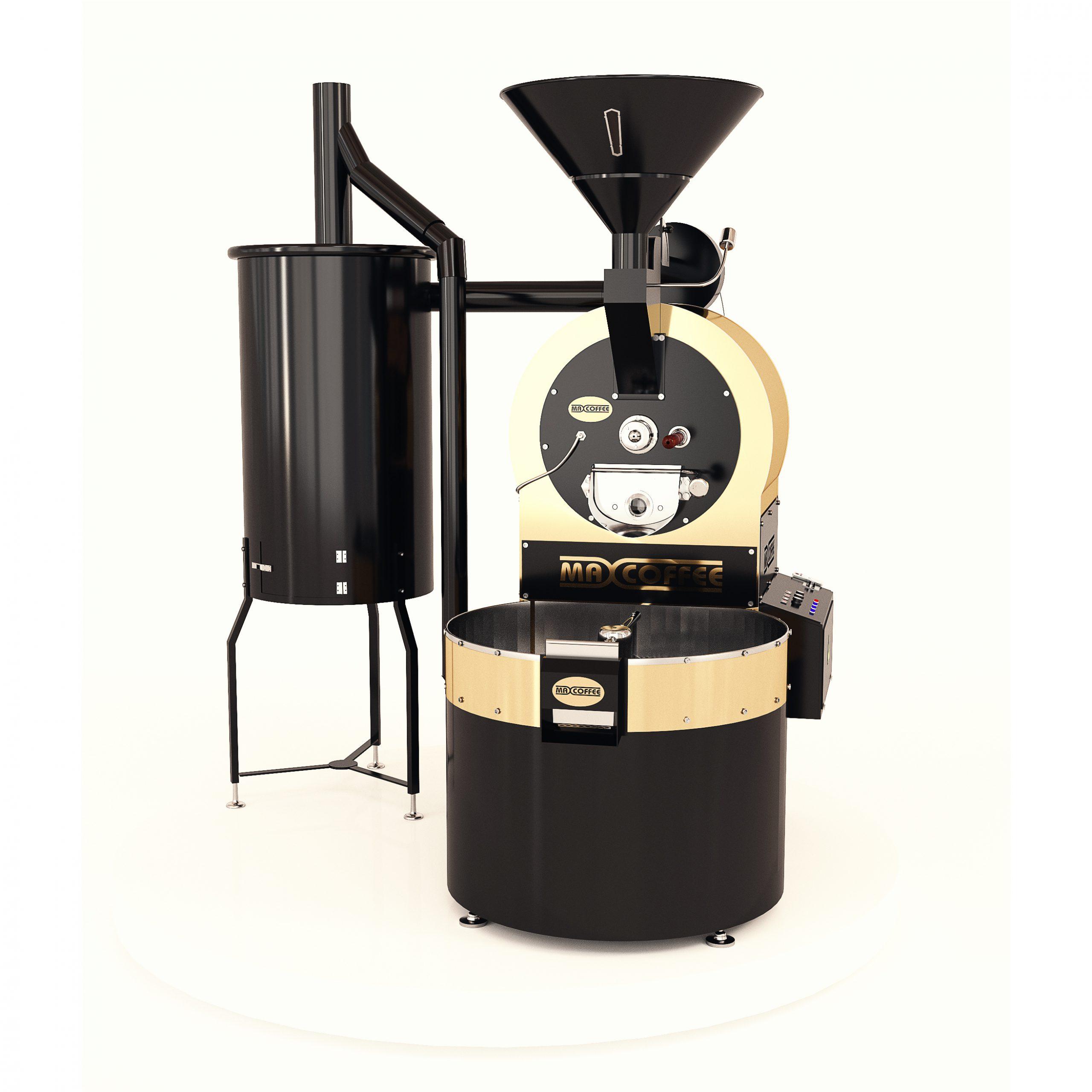 رستر قهوه ۳۰کیلویی مکس کافی