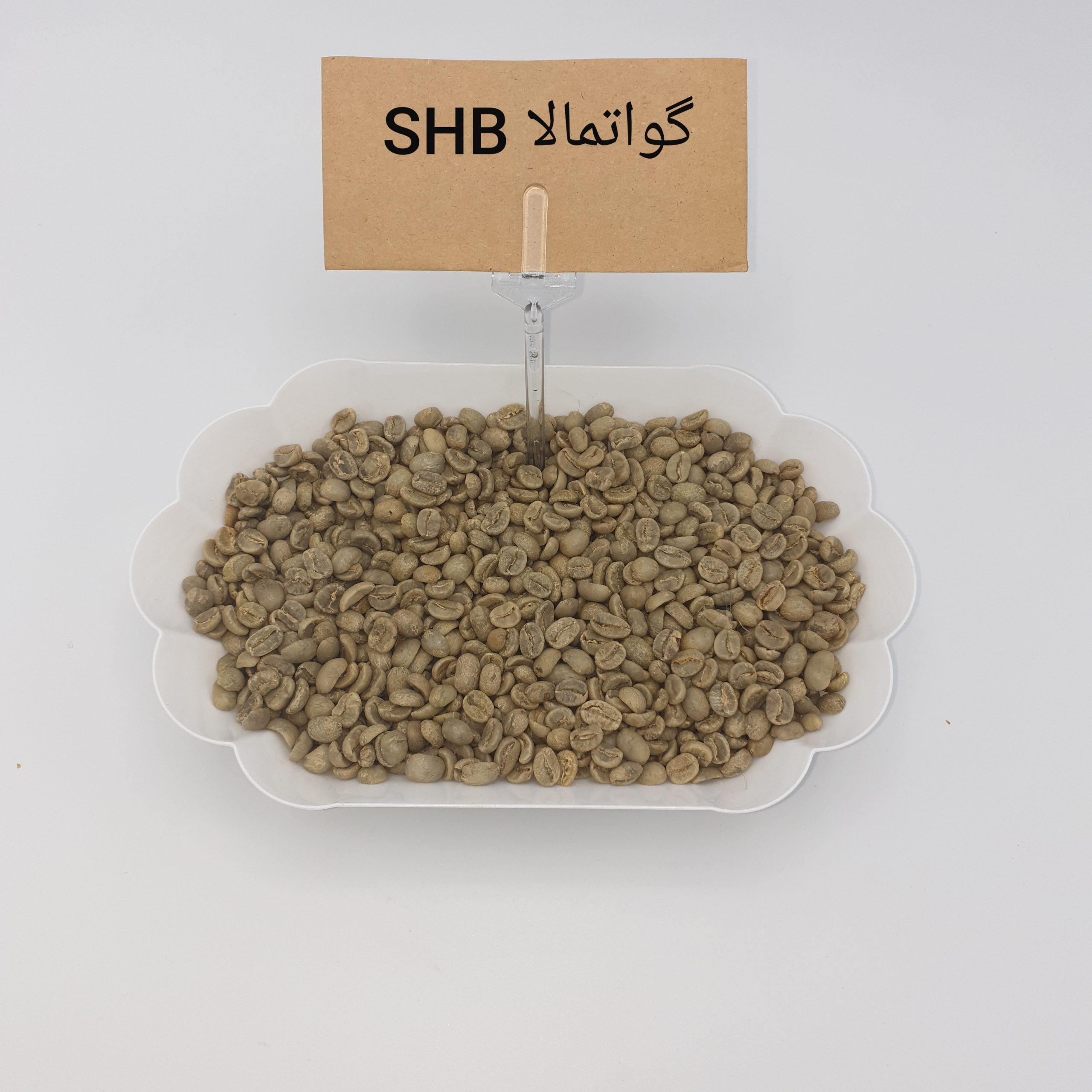 قهوه سبز گواتمالا SHB