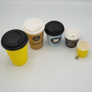 لیوان کاغذی قهوه درب دار رستاک-6